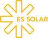 es solar logo yellow